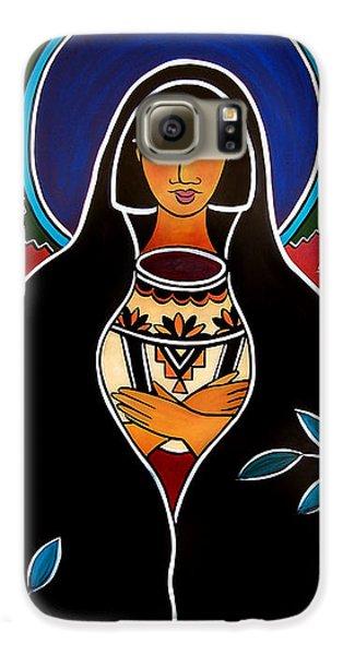 Pueblo Madonna Galaxy S6 Case