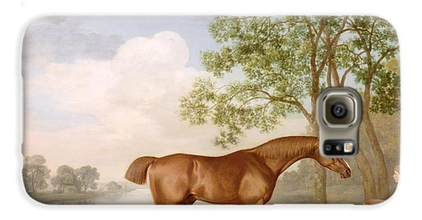 Boy George Galaxy S6 Case - Pumpkin With A Stable-lad by George Stubbs