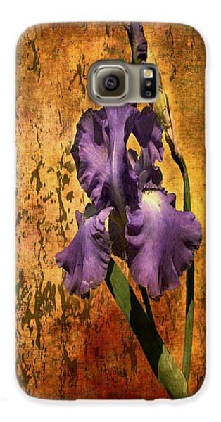 Purple Iris At Sunset Galaxy S6 Case