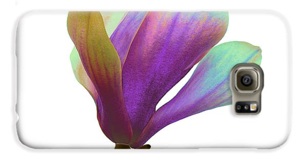 Purple Magnolia Galaxy S6 Case