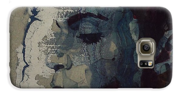 Rhythm And Blues Galaxy S6 Case - Purple Rain - Prince by Paul Lovering