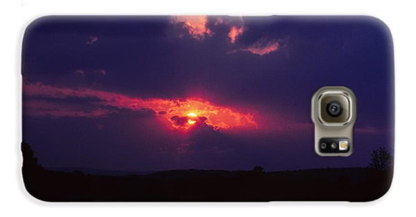 Purple Sunset Galaxy S6 Case