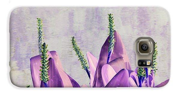Purple Water Plant Galaxy S6 Case