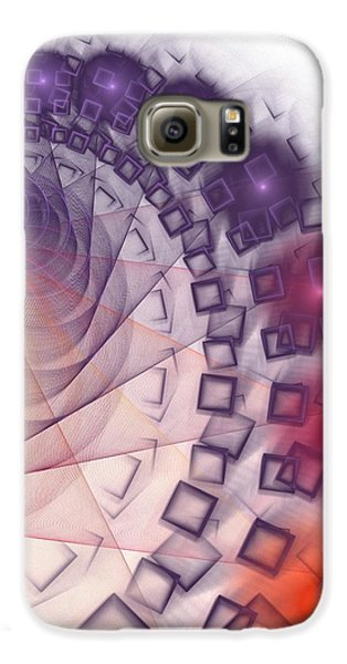 Galaxy S6 Case featuring the digital art Quantum Gravity by Anastasiya Malakhova