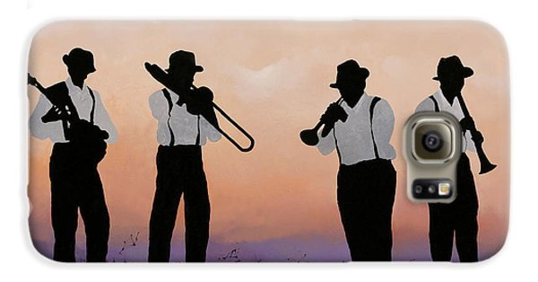 Jazz Galaxy S6 Case - Quattro by Guido Borelli