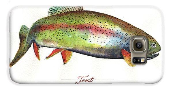 Rainbow Trout Galaxy S6 Case