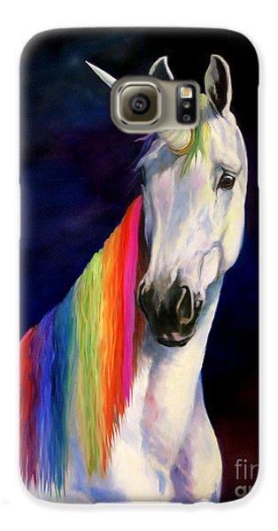 Rainbow Unicorn Galaxy S6 Case