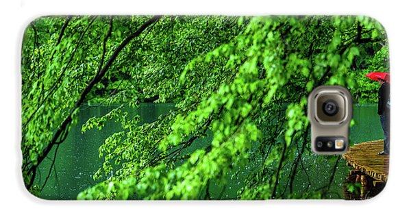 Raining Serenity - Plitvice Lakes National Park, Croatia Galaxy S6 Case