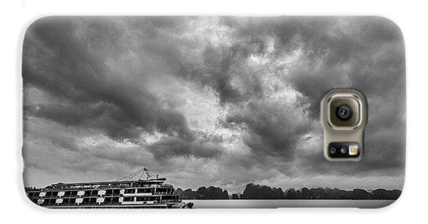 Galaxy S6 Case featuring the photograph Rainy Day Cruise by Hitendra SINKAR