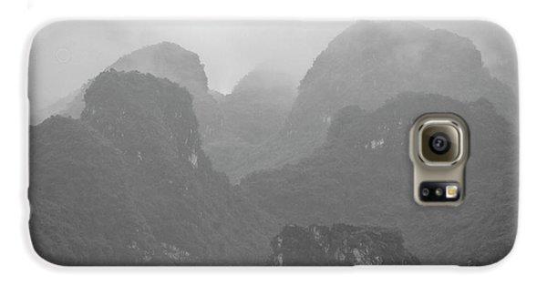 Galaxy S6 Case featuring the photograph Rainy Ha Long Bay, Ha Long, 2014 by Hitendra SINKAR