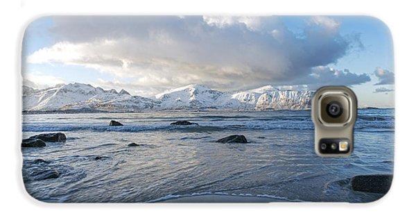 Ramberg Beach, Lofoten Nordland Galaxy S6 Case