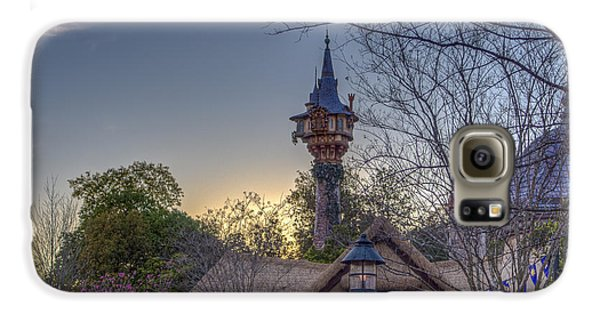 Rapunzel's Tower At Sunset Galaxy S6 Case