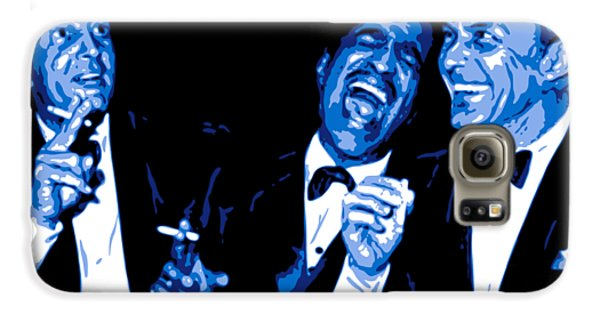 Frank Sinatra Galaxy S6 Case - Rat Pack At Carnegie Hall by DB Artist