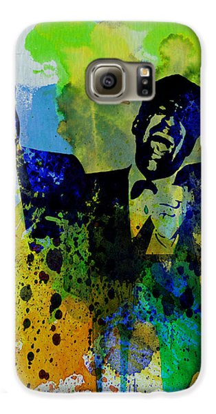 Frank Sinatra Galaxy S6 Case - Rat Pack by Naxart Studio