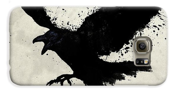 Raven Galaxy S6 Case by Nicklas Gustafsson