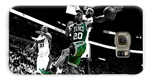 Larry Bird Galaxy S6 Case - Ray Allen 2c by Brian Reaves