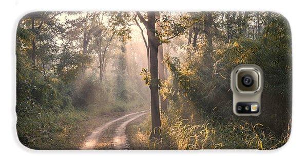 Rays Through Jungle Galaxy S6 Case