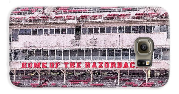 Razorback Stadium Galaxy S6 Case by JC Findley