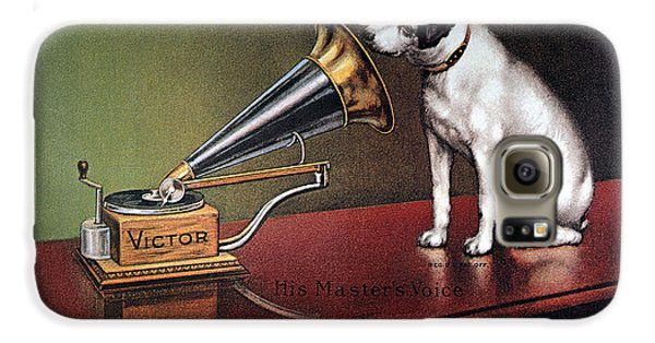 Dog Galaxy S6 Case - Rca Victor Trademark by Granger