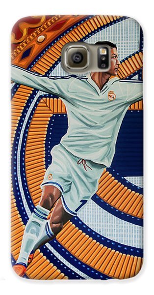 Real Madrid Painting Galaxy S6 Case