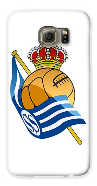 Real Sociedad De Futbol Sad Galaxy S6 Case by David Linhart
