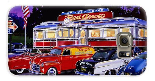 Red Arrow Diner Galaxy S6 Case