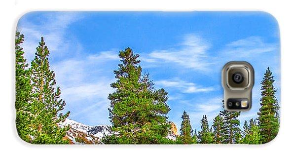 Yosemite National Park Galaxy S6 Case - Red Barn On A Hill by Az Jackson