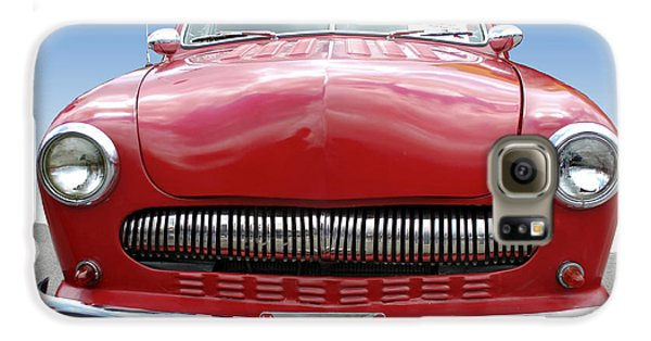 Red Car Galaxy S6 Case