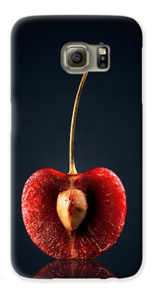 Red Cherry Still Life Galaxy S6 Case