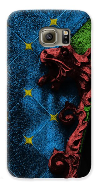 Decorative Galaxy S6 Case - Red Dragon by Emme Pons