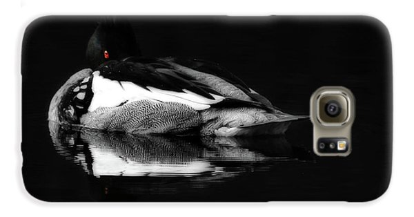 Red Eye Galaxy S6 Case by Lori Deiter