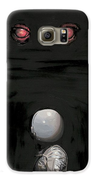Red Eyes Galaxy S6 Case by Scott Listfield