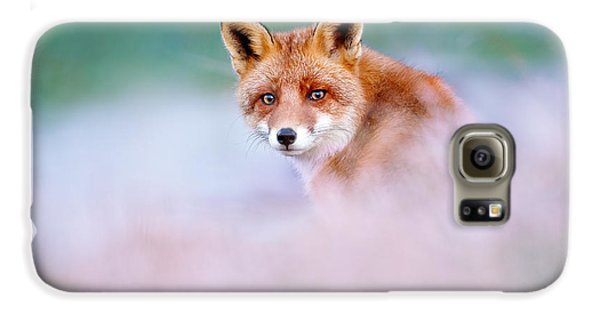 Red Fox In A Mysterious World Galaxy S6 Case by Roeselien Raimond