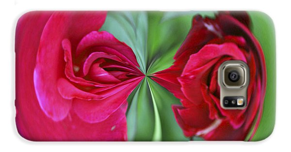 Galaxy S6 Case featuring the photograph Red Rose Orb by Bill Barber