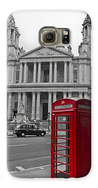 Red Telephone Boxes In London Galaxy S6 Case