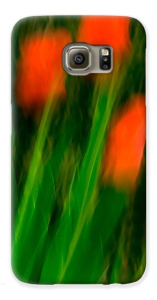 Red Tulips Galaxy S6 Case by  Onyonet  Photo Studios
