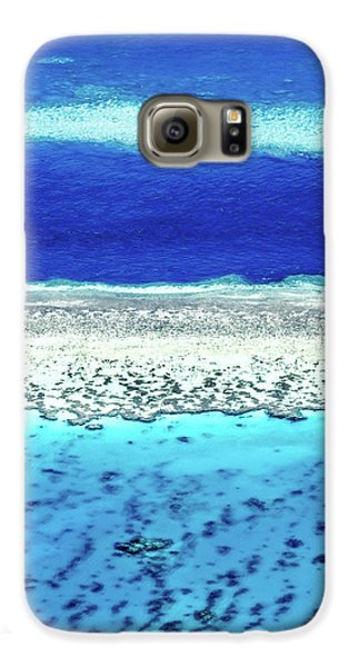 Helicopter Galaxy S6 Case - Reefs Edge by Az Jackson