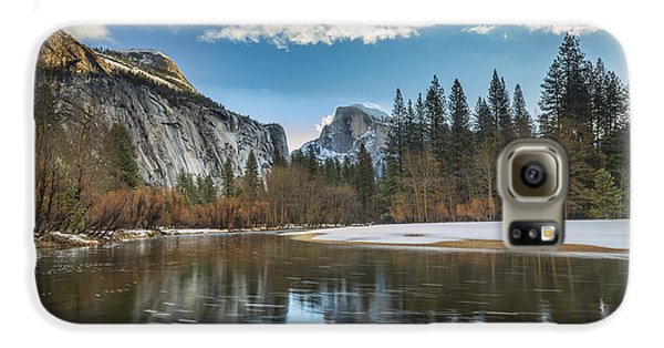 Reflecting On Half Dome Galaxy S6 Case