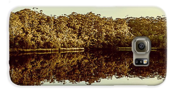 Mangrove Galaxy S6 Case - Reflections From Cockle Creek  by Jorgo Photography - Wall Art Gallery