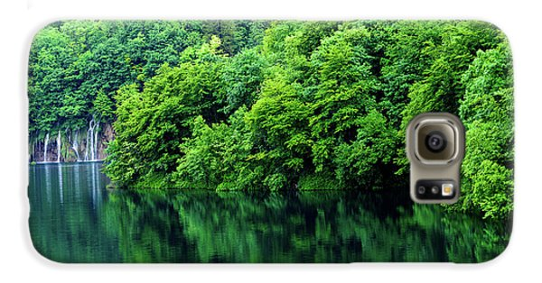 Reflections Of Plitvice, Plitvice Lakes National Park, Croatia Galaxy S6 Case
