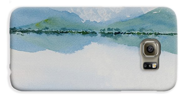 Reflections Of The Skies And Mountains Surrounding Bathurst Harbour Galaxy S6 Case
