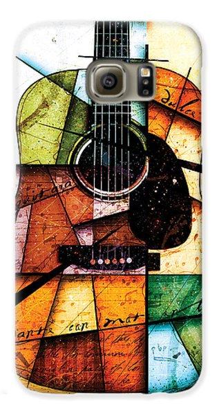 Guitar Galaxy S6 Case - Resonancia En Colores by Gary Bodnar