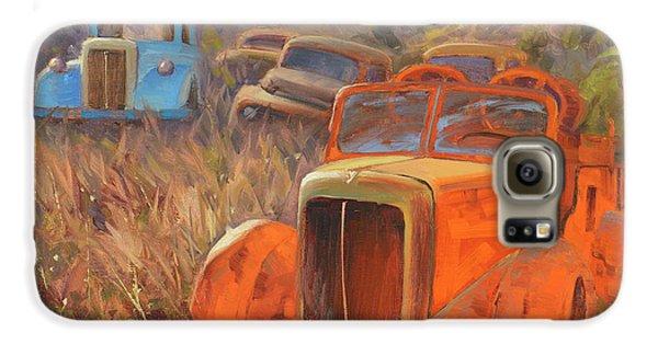 Truck Galaxy S6 Case - Retired Fireman by Cody DeLong