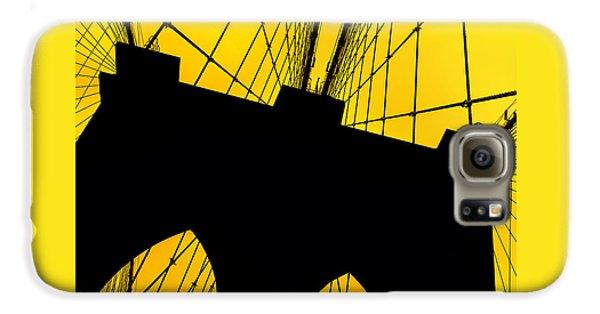 Brooklyn Bridge Galaxy S6 Case - Retro Arches by Az Jackson