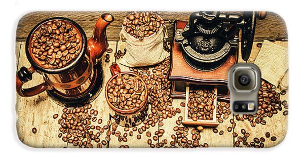 Retro Coffee Bean Mill Galaxy S6 Case by Jorgo Photography - Wall Art Gallery
