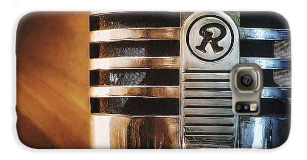 Jazz Galaxy S6 Case - Retro Microphone by Scott Norris