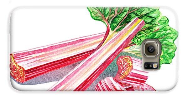 Rhubarb Stalks Galaxy S6 Case by Irina Sztukowski