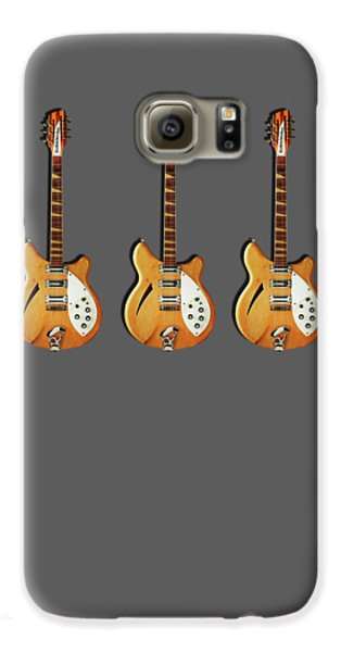 Rickenbacker 360 12 1964 Galaxy S6 Case by Mark Rogan