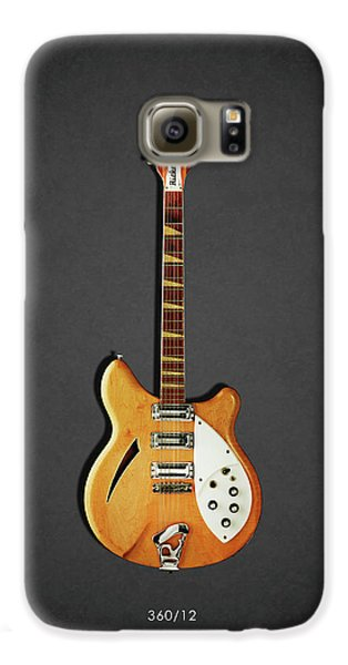 Jazz Galaxy S6 Case - Rickenbacker 360 12 1964 by Mark Rogan