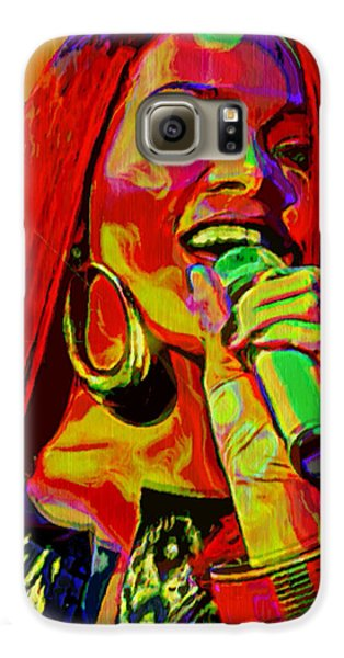Rihanna 2 Galaxy S6 Case by  Fli Art